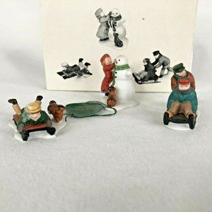 Dept 56 Snow Children Heritage Village Collection